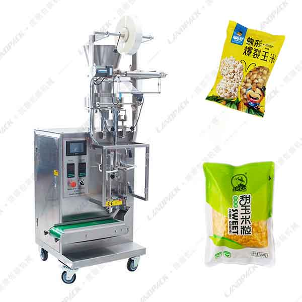 玉米粒包装机_玉米颗粒定量包装机