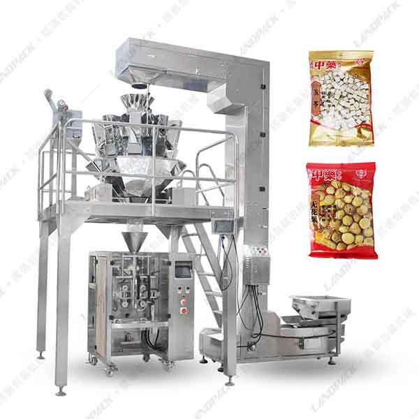 大袋颗粒定量包装机_颗粒定量立式包装机