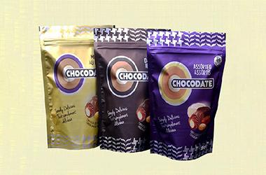 拉链袋巧克力包装方案