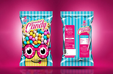 背封糖果包装方案