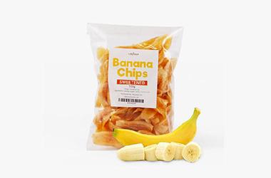 背封香蕉片包装方案