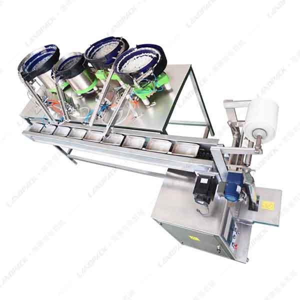 4盘螺丝点数包装机