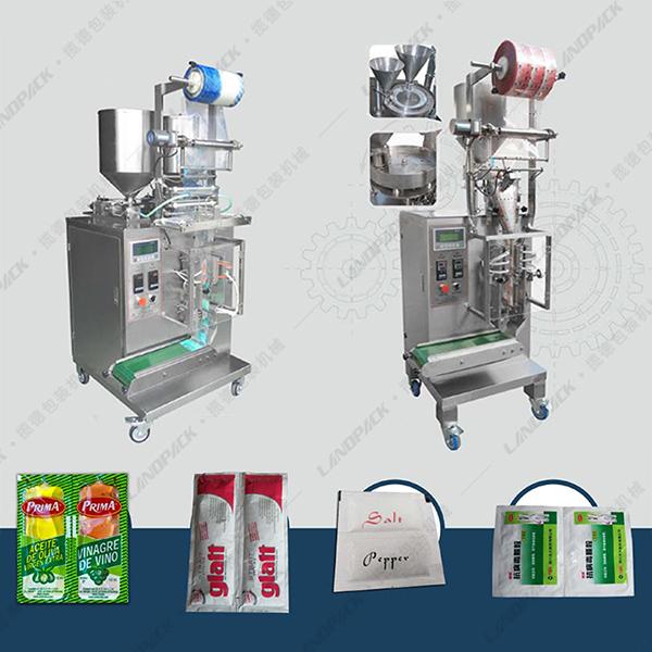 多列四边封液体包装机