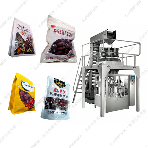 小袋进大袋红枣包装机_二次红枣包装机
