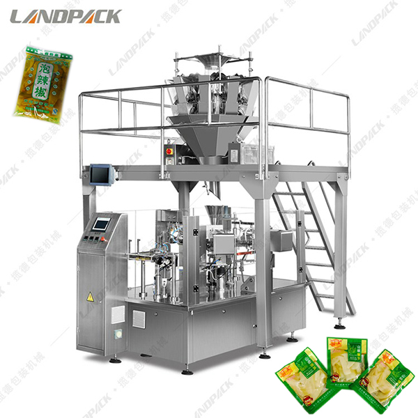固体液体混合包装机(给袋式)