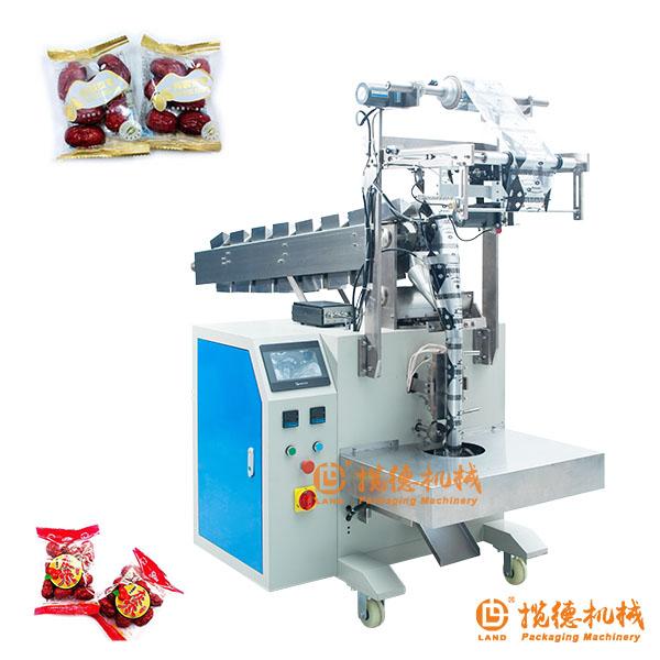 半自动小袋红枣包装机_小型袋红枣包装机