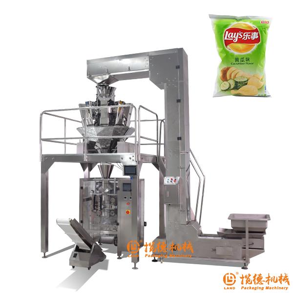 薯片包装机_全自动袋装充氮气包装机设备