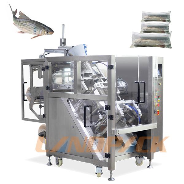 活鱼包装机_全自动充氧气活鱼包装机器设备