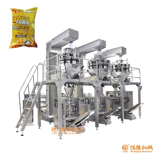 爆米花包装生产线|爆米花集中供料系统
