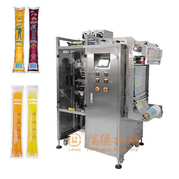 果冻条包装机_果冻条多列液体包装机