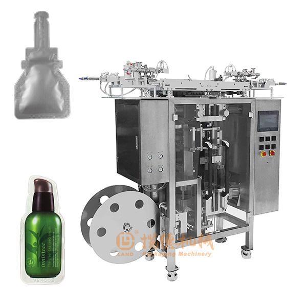 异型袋多列包装机_多列异形袋液体包装机