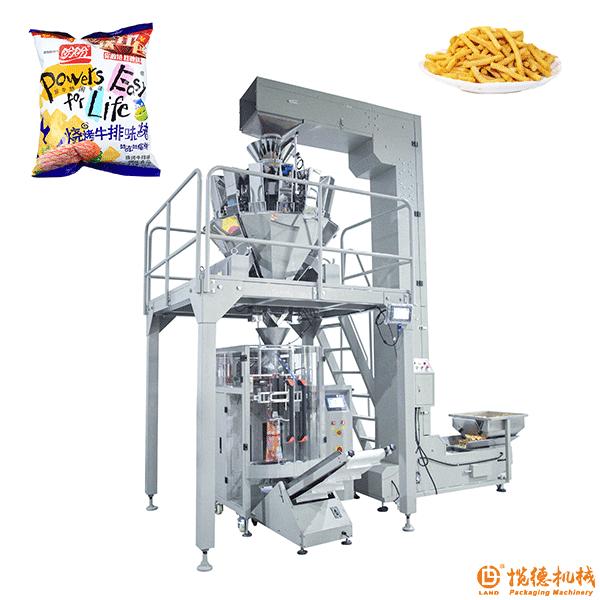 自动膨化食品包装机