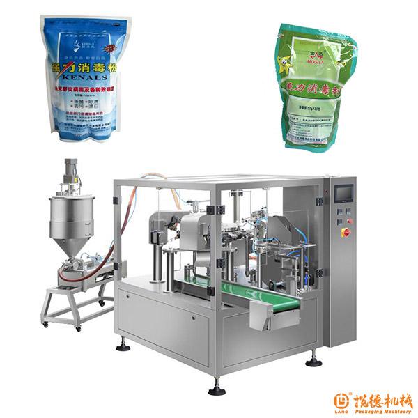 消毒液包装机_袋装洗手液/消毒液包装机械设备