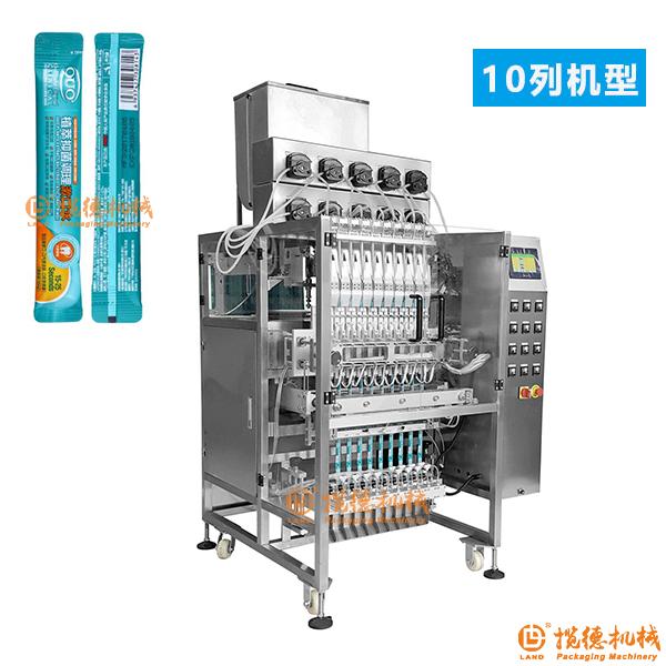 漱口水包装机_条状袋装多列漱口水包装机器设备