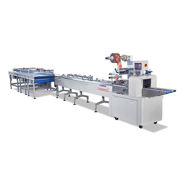 饼干理料线包装机|分道式理料包装机
