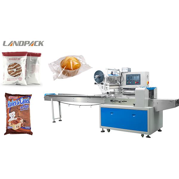面包包装机视频
